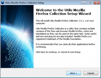 скриншот Utilu Mozilla Firefox Collection