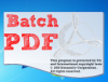 фотография Batch PDF Stamp