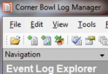 скриншот Corner Bowl Log Manager