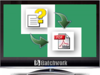 скриншот Batch CHM to PDF Convertor