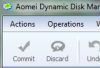 фотография Aomei Dynamic Disk Manager Home Edition